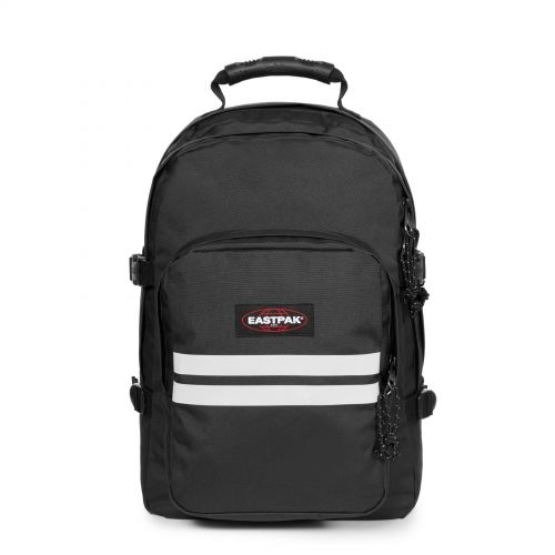 Provider Reflective Black Backpacks by Eastpak - Front view