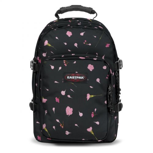 Provider Carnation Black Backpacks by Eastpak - Front view