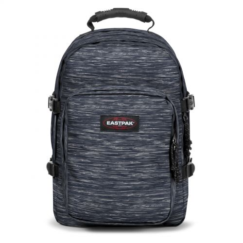 Provider Knit Grey Backpacks by Eastpak - Front view