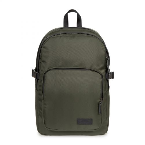 Provider Constructed Khaki Backpacks by Eastpak - Front view