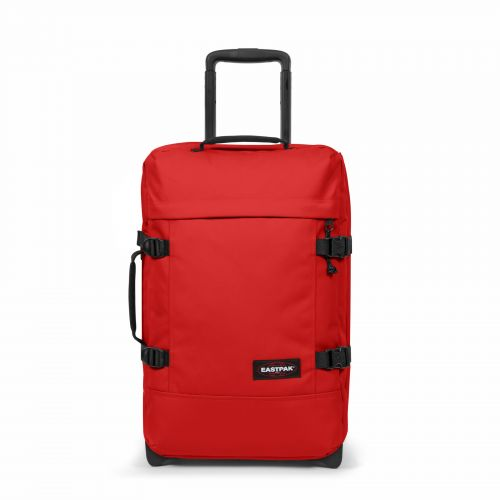 Tranverz S Teasing Red Luggage by Eastpak - Front view