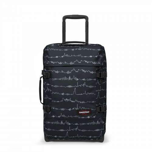 Tranverz S Beat Black Luggage by Eastpak - Front view