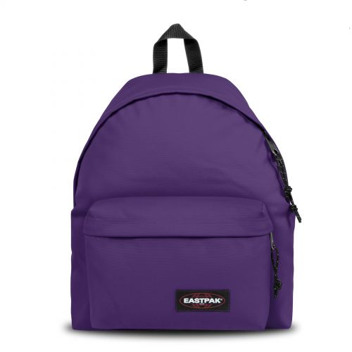 Padded Pak'r® Prankish Purple Backpacks by Eastpak - Front view