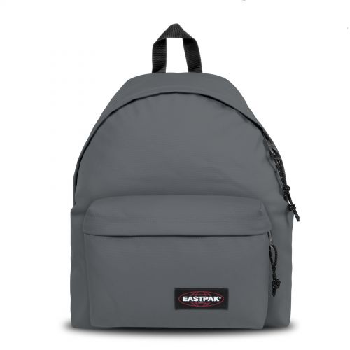 Padded Pak'r® Coal Backpacks by Eastpak - Front view