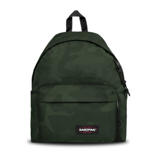 Padded Pak'r® Tonal Camo Khaki Backpacks by Eastpak - Front view