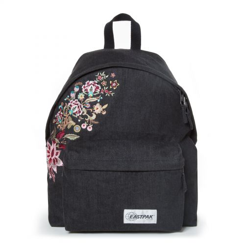 Padded Pak'r® Black Grunge Backpacks by Eastpak - Front view