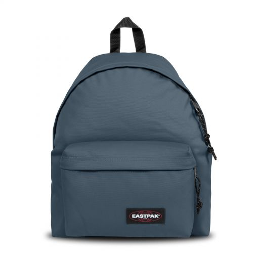 Padded Pak'R Ocean Blue Backpacks by Eastpak - Front view