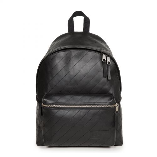 Padded Pak'r® Quilted Stripe Backpacks by Eastpak - Front view