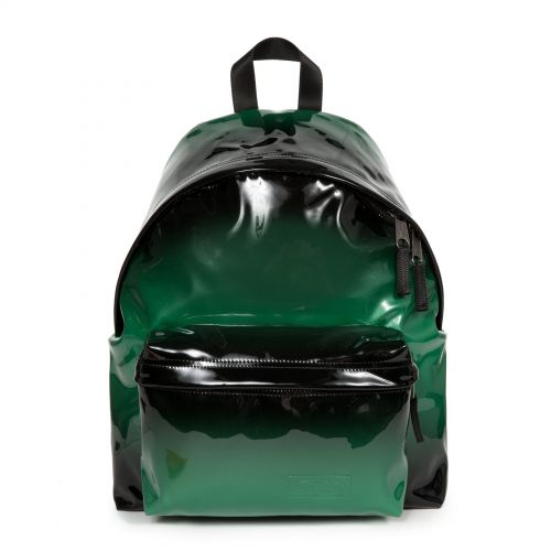 Padded Pak'r® Glossy Green Backpacks by Eastpak - Front view