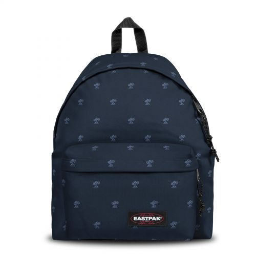 Padded Pak'r® Palm Tree Navy Backpacks by Eastpak - Front view