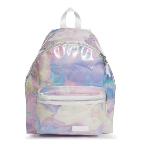 Padded Pak'r® Marble Transparent Backpacks by Eastpak - Front view
