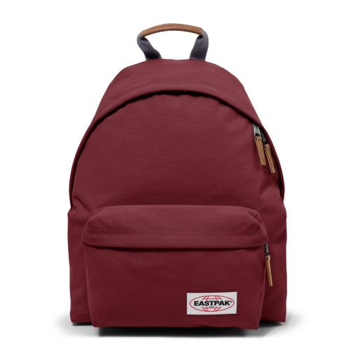 Padded Pak'r® Opgrade Grape Backpacks by Eastpak - Front view