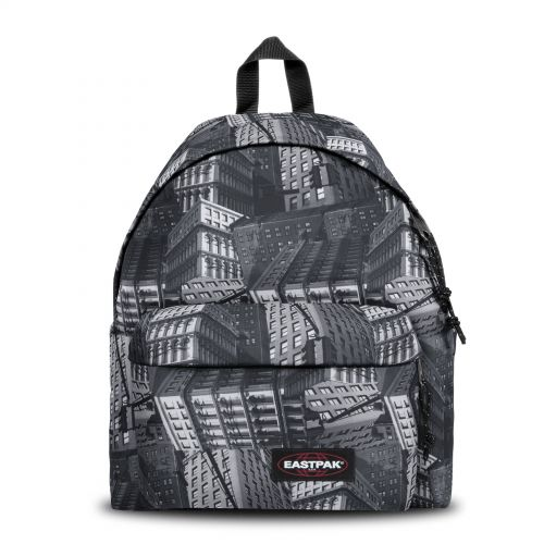 Padded Pak'r® Chroblack Backpacks by Eastpak - Front view