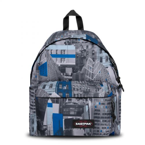 Padded Pak'r® Chroblue Backpacks by Eastpak - Front view