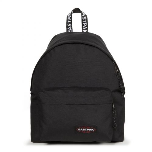 Padded Pak'r® Black Webbed by Eastpak - Front view