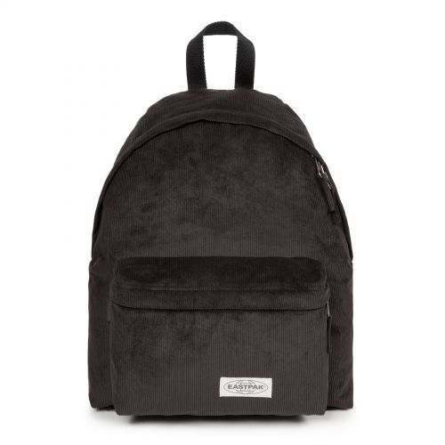 Padded Pak'r® Comfy Black Backpacks by Eastpak - Front view