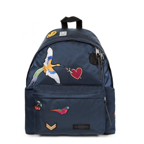 Padded Pak'r® Bellish Blue Backpacks by Eastpak - Front view