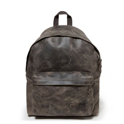 Padded Pak'r® American Leather Backpacks by Eastpak - Front view