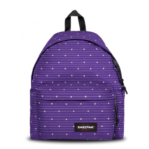 Padded Pak'r® Little Stripe Backpacks by Eastpak - Front view