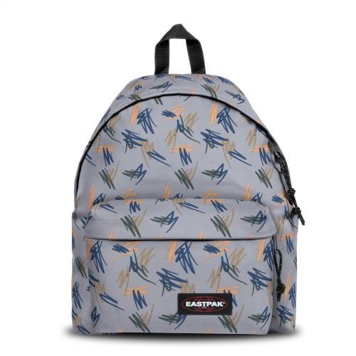 Padded Pak'r® Scribble Local Backpacks by Eastpak - Front view
