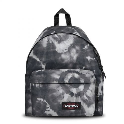 Padded Pak'r® Tie Black Backpacks by Eastpak - Front view