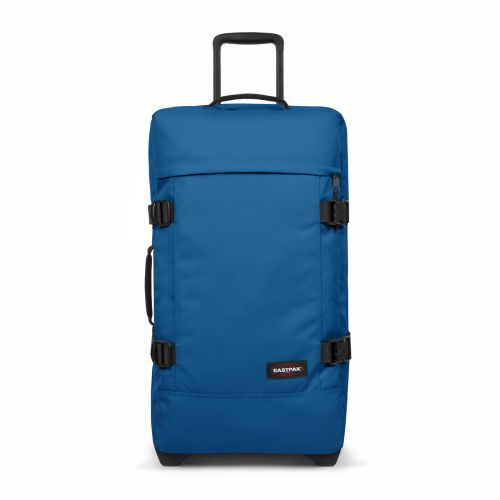 Tranverz M Urban Blue Luggage by Eastpak - Front view