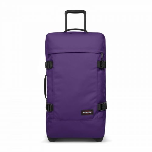 Tranverz M Prankish Purple Luggage by Eastpak - Front view