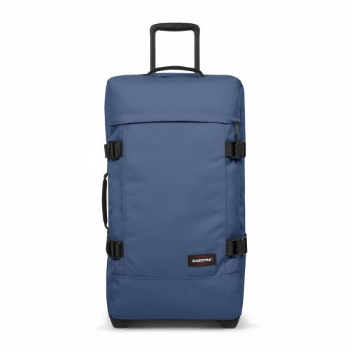 Tranverz M Humble Blue Luggage by Eastpak - Front view