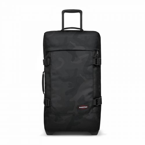 Tranverz M Tonal Camo Dark Luggage by Eastpak - Front view