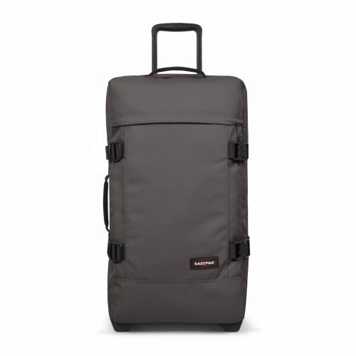 Tranverz M Simple Grey Luggage by Eastpak - Front view