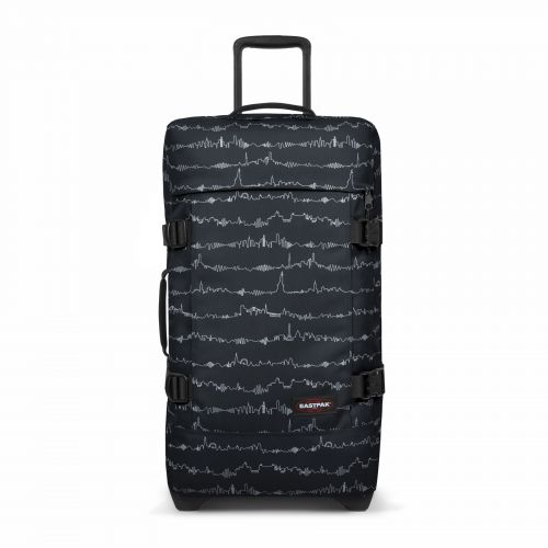 Tranverz M Beat Black Luggage by Eastpak - Front view