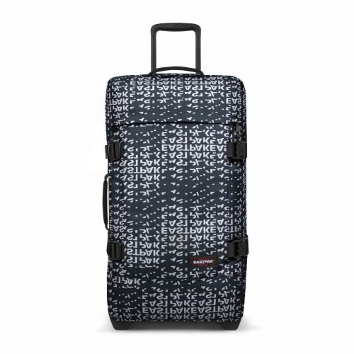 Tranverz M Bold Black Luggage by Eastpak - Front view