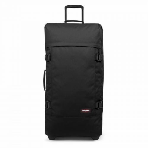 Tranverz L Black Luggage by Eastpak - Front view