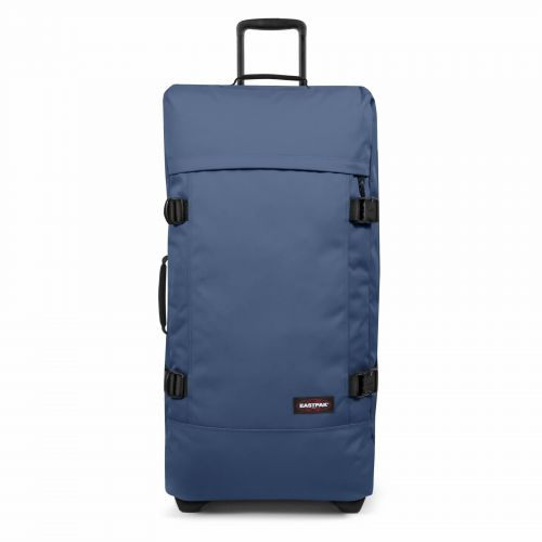 Tranverz L Humble Blue Luggage by Eastpak - Front view