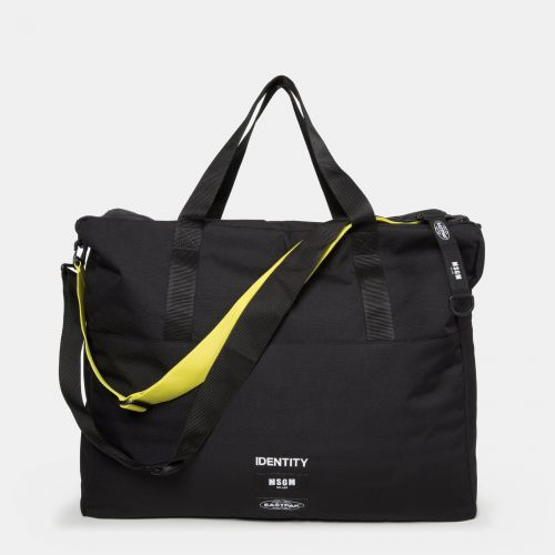 MSGM Tote Black by Eastpak - Front view