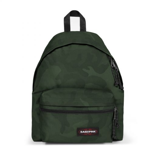 Padded Zippl'r Tonal Camo Khaki Backpacks by Eastpak - Front view