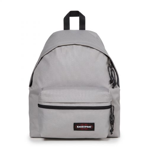 Padded Zippl'r Levelled Concrete by Eastpak - Front view