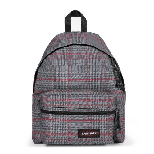 Padded Zippl'r Chertan Red Backpacks by Eastpak - Front view