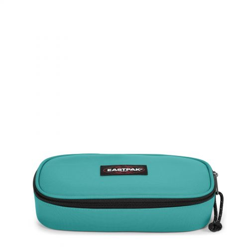 Oval Lagoon Blue Accessories by Eastpak - Front view