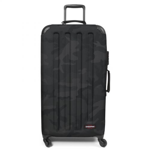 Tranzshell L Tonal Camo Dark Luggage by Eastpak - Front view