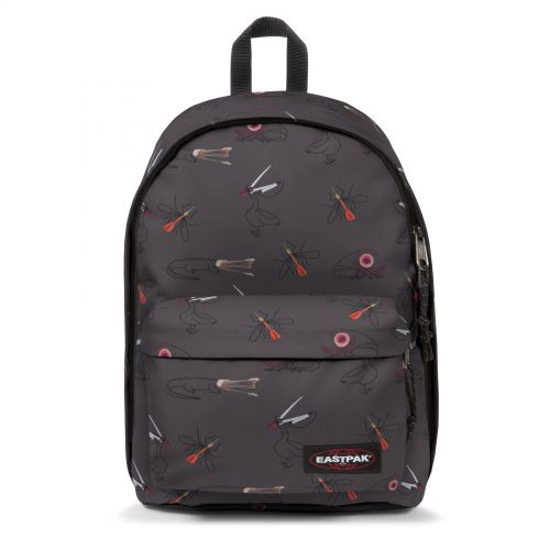 Out Of Office Twist Office Backpacks by Eastpak - Front view