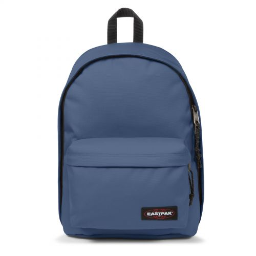 Out Of Office Humble Blue Backpacks by Eastpak - Front view