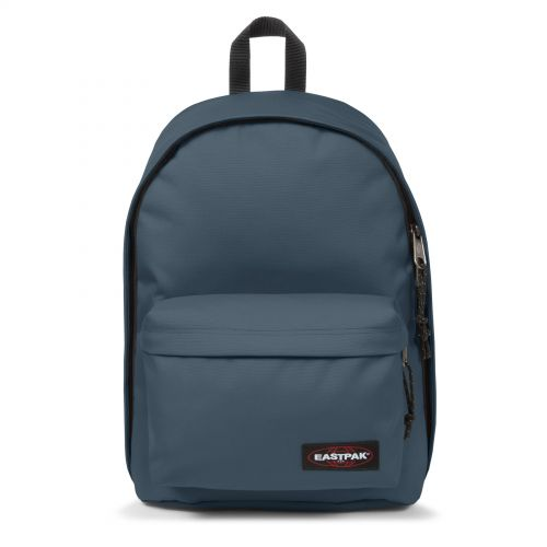 Out Of Office Ocean Blue Backpacks by Eastpak - Front view