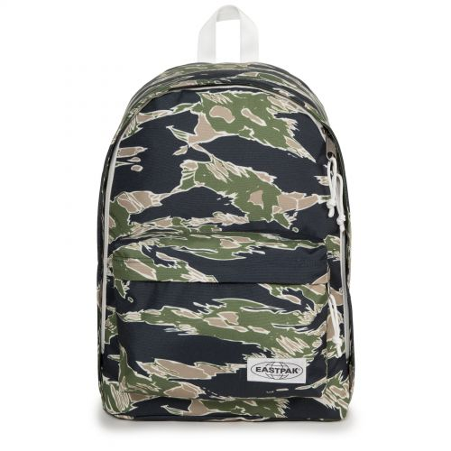 Out Of Office Camo'ed Forest Backpacks by Eastpak - Front view
