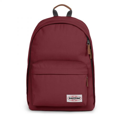 Out Of Office Opgrade Grape Backpacks by Eastpak - Front view