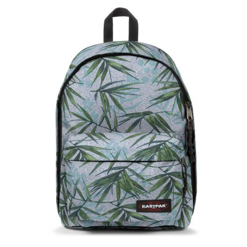 Out Of Office Brize Mel Grey Backpacks by Eastpak - Front view