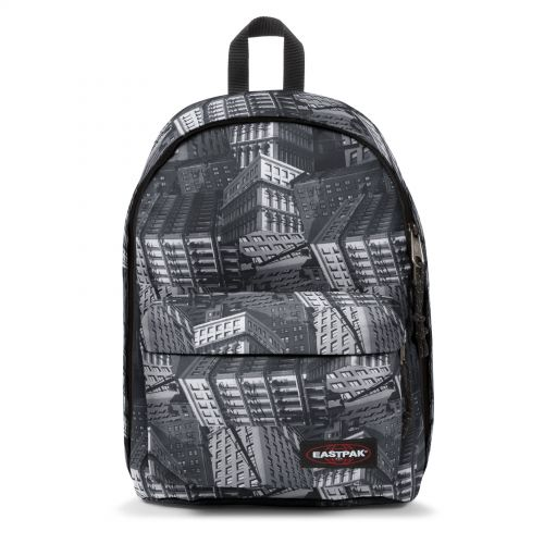 Out Of Office Chroblack Backpacks by Eastpak - Front view