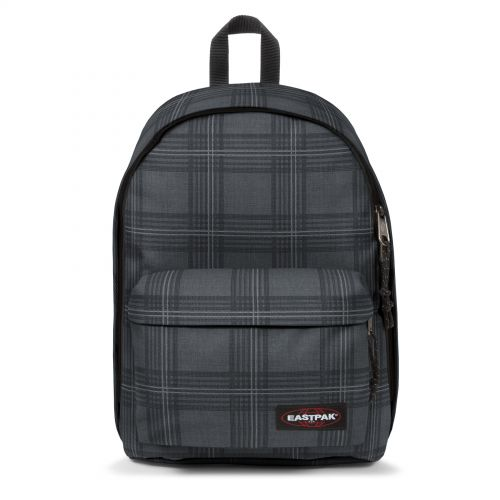 Out Of Office Chertan Black Backpacks by Eastpak - Front view