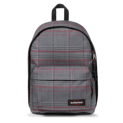 Out Of Office Chertan Red Backpacks by Eastpak - Front view