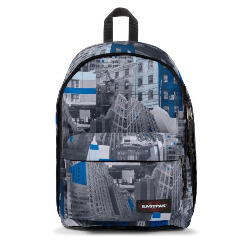 Out Of Office Chroblue Backpacks by Eastpak - Front view